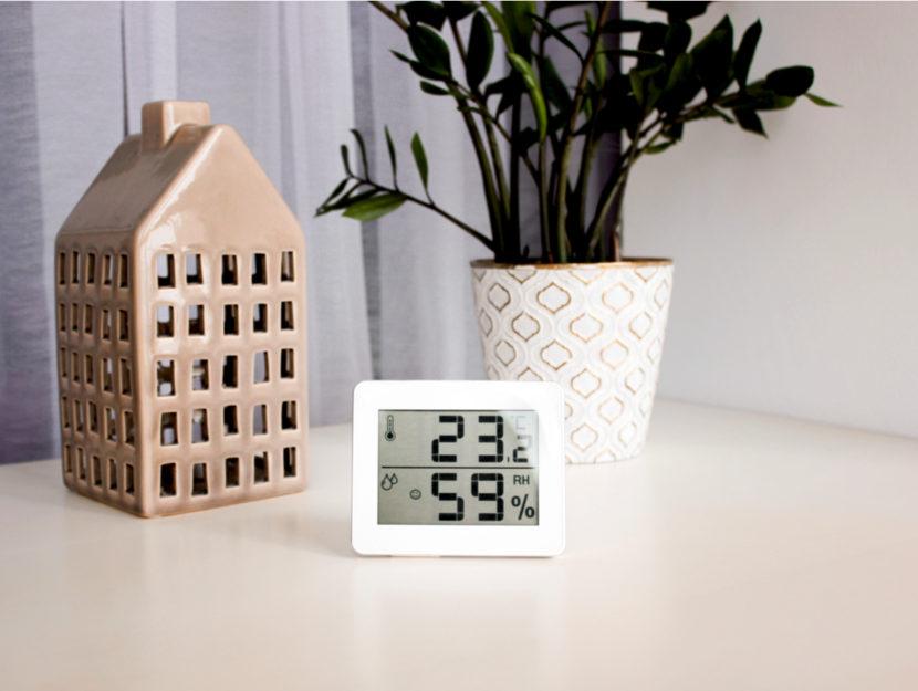 temperatura umidità casa