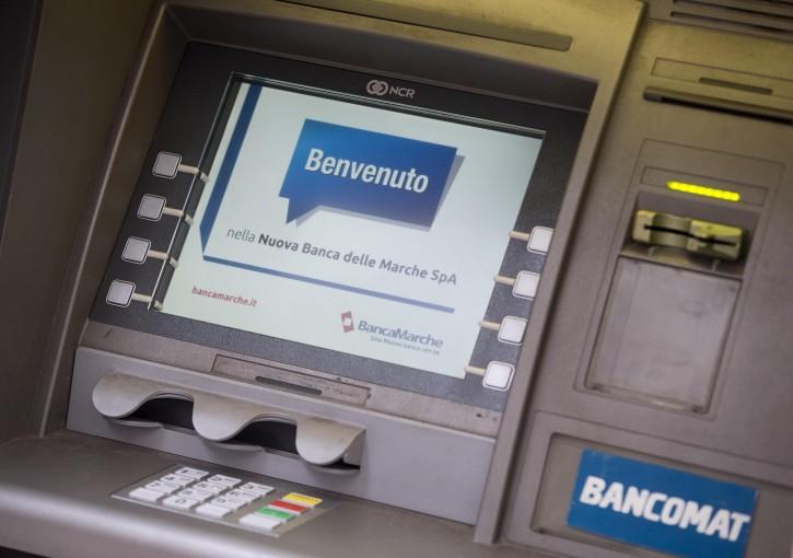 Sportello bancomat banca