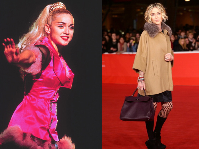 Madonna e Paola Barale