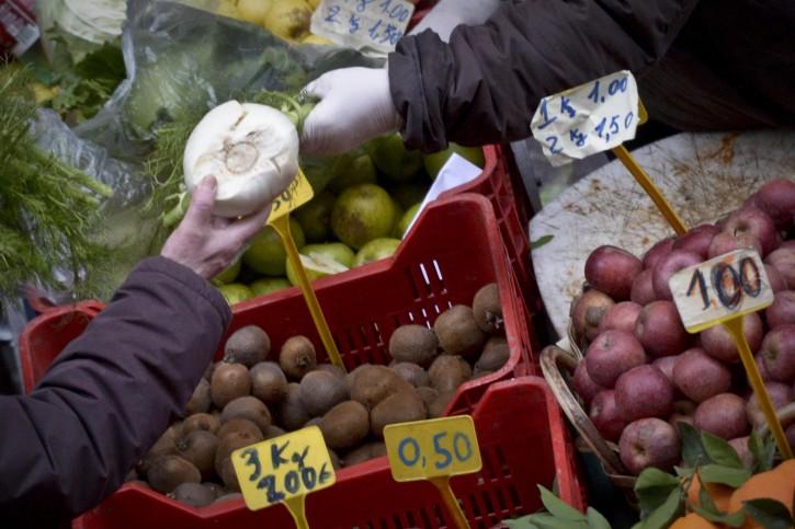 Mercato frutta verdura prezzi