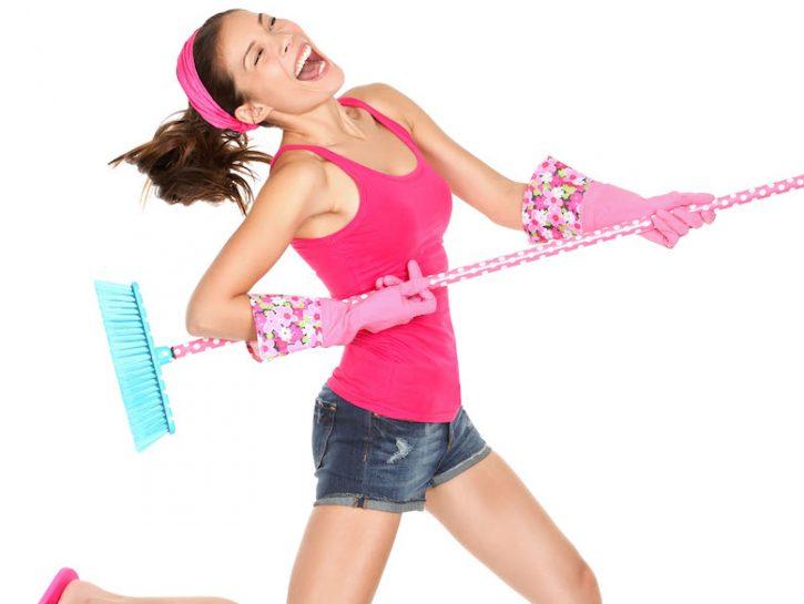 Dimagrire pulendo casa
