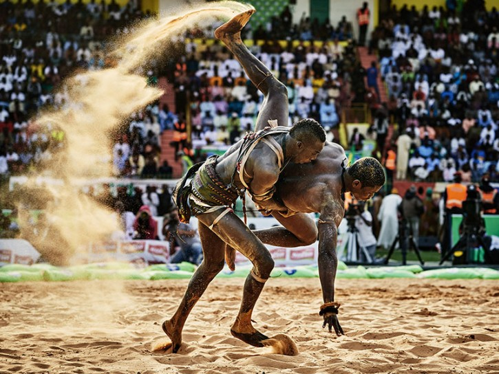 © Christian Bobst The Gris gris Wrestlers of Senegal 03