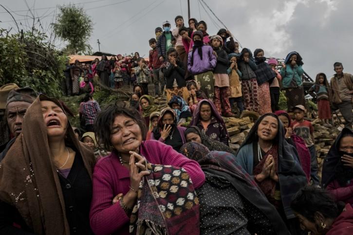 © Daniel Berehulak   An Earthquake's Aftermath, Nepal 02