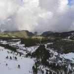 Canarie: insolita nevicata