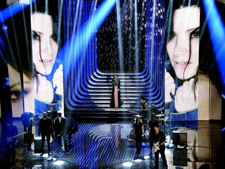 Festival Sanremo 2016 Laura Pausini Ariston