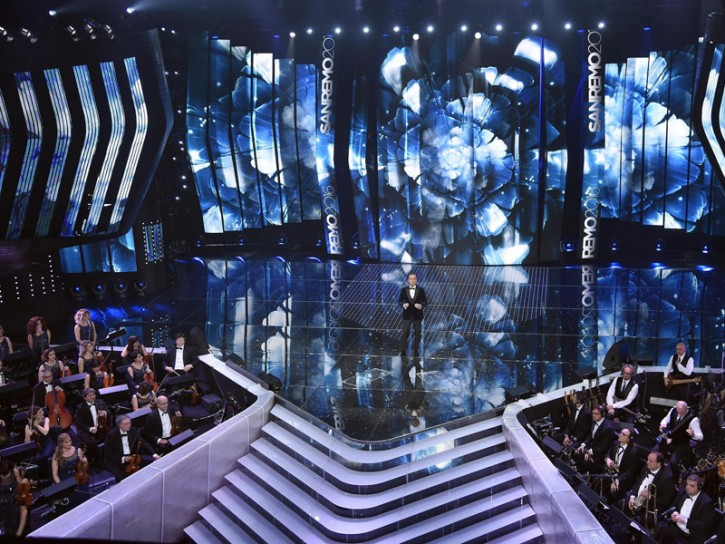 Festival Sanremo 2016 palco Ariston