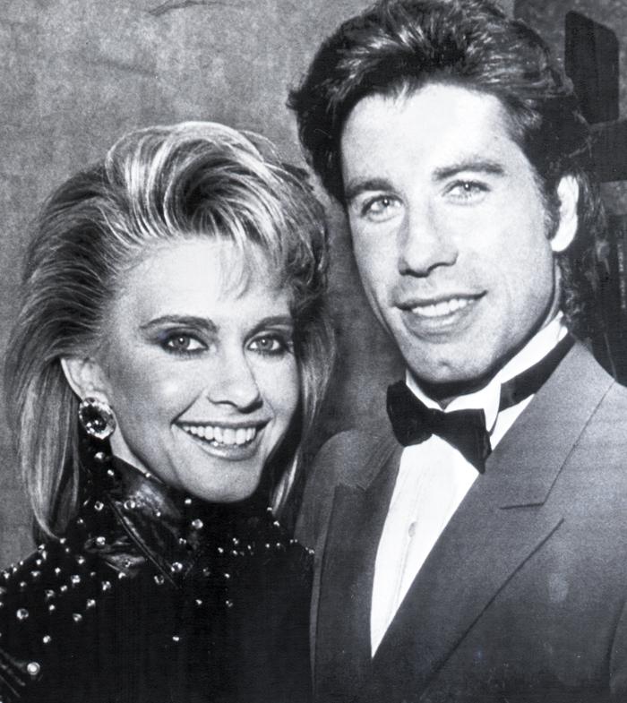 John Travolta e Olivia Newton John 1983
