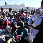 Migranti in attesa in Grecia