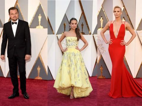 Oscar 2016 look più belli red carpet leonardo di caprio