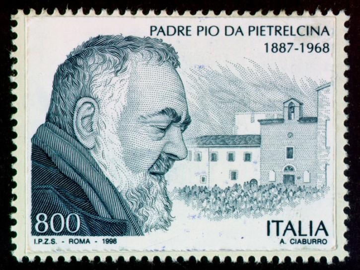Padre Pio francobollo 1998