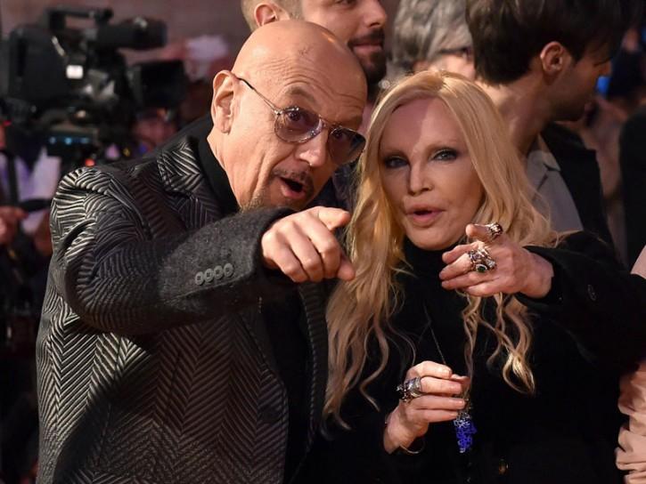 Sanremo 2016 Enrico Ruggeri e Patty Pravo