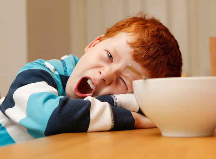 Rimedi naturali per la stanchezza primaverile dei bambini