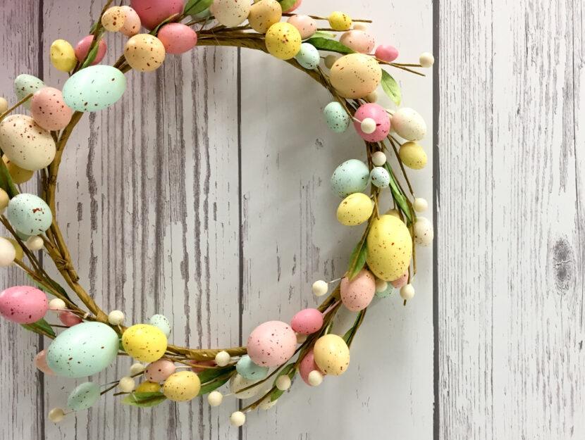 ghirlande pasqua uova decorazioni