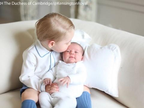 Primi scatti dei royal baby George e Charlotte