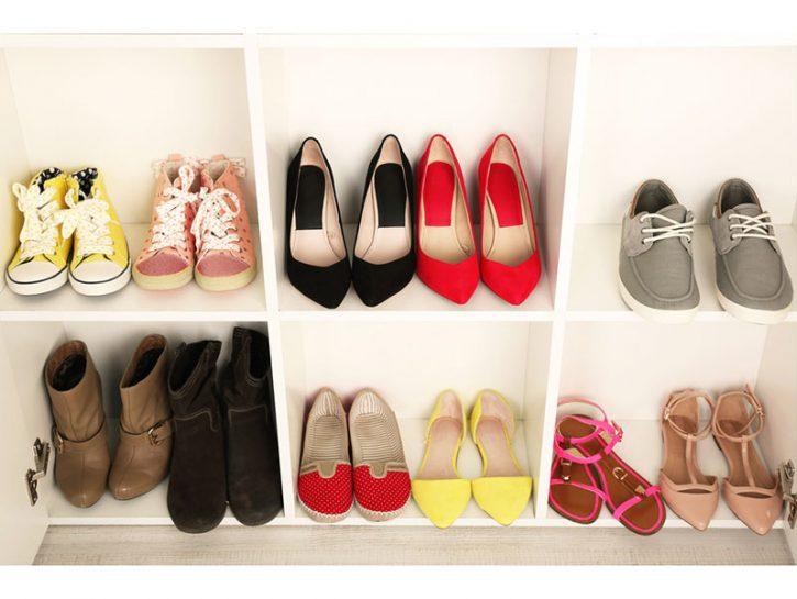 Pulire scarpe