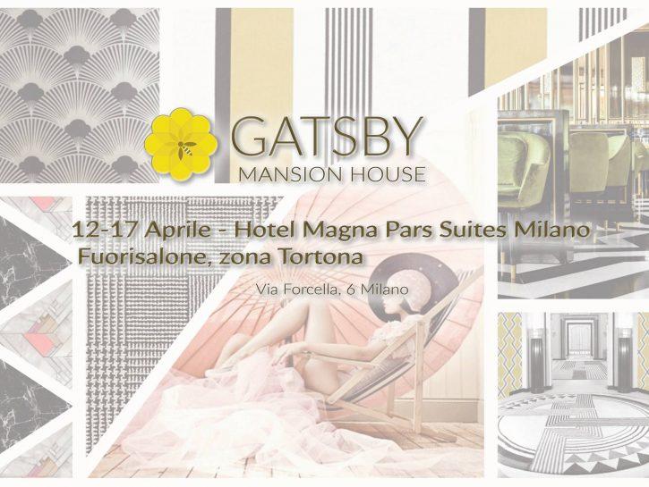 Gatsby maison house fuorisalone 2016