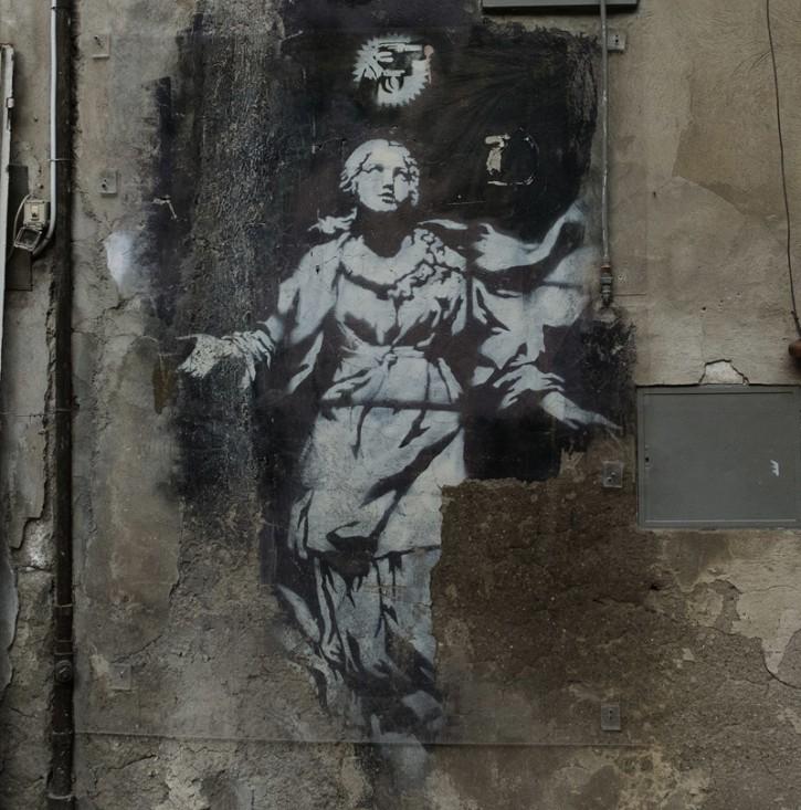 L'unico Banksy in Italia