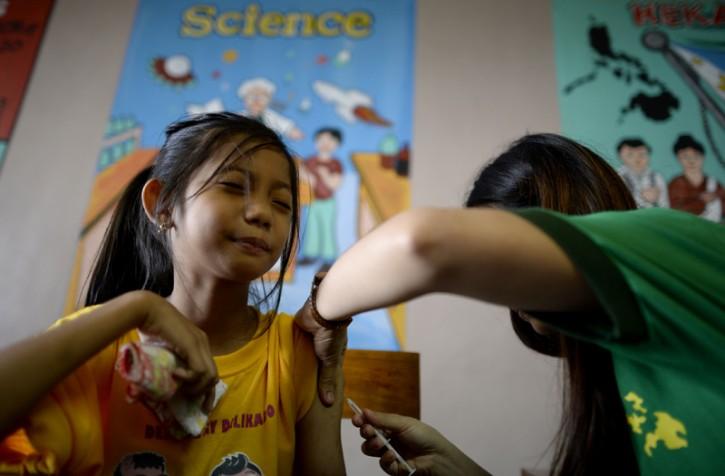 Primo vaccino contro la Dengue a Manila