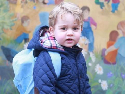 Primo giorno di scuola per il principino George