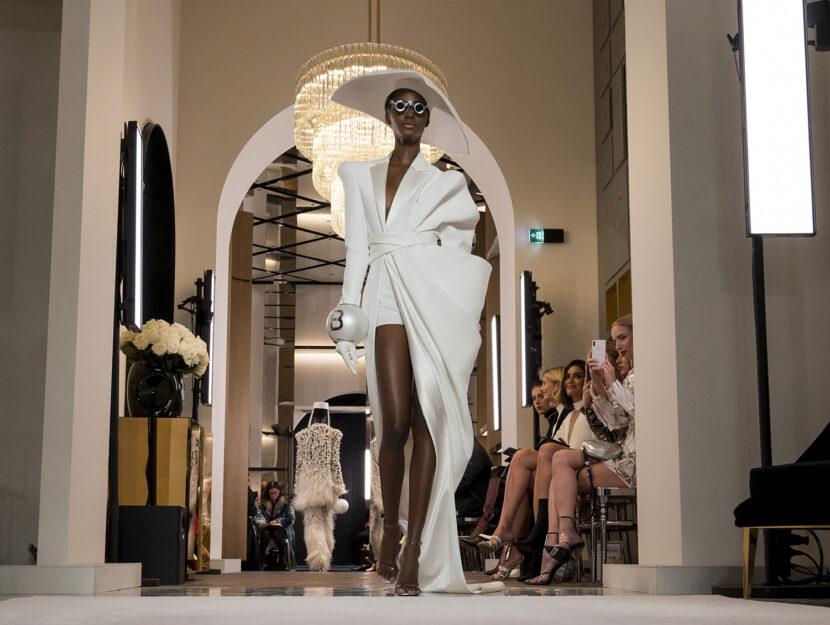 abito da sposa haute couture balmain