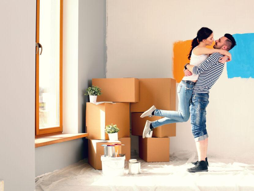 organizzare la casa per la convivenza