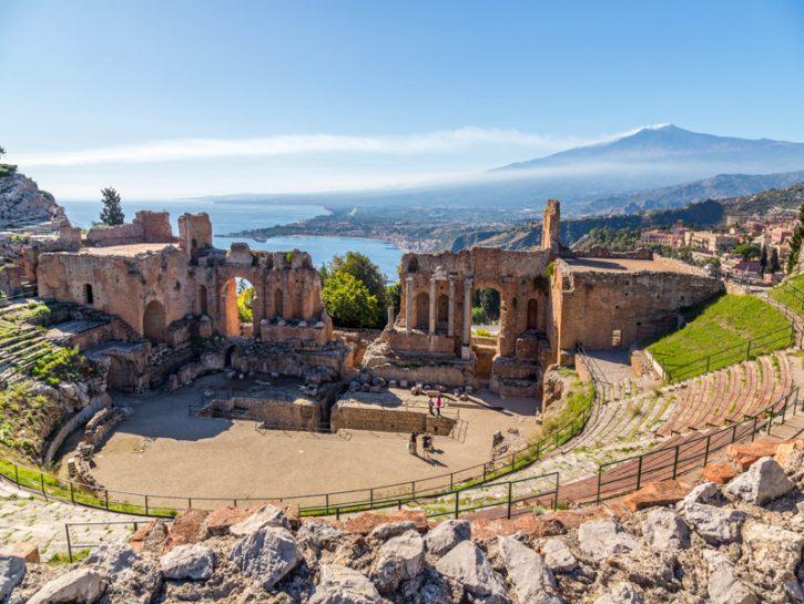 Sicilia, Taormina e le altre città della costa orientale
