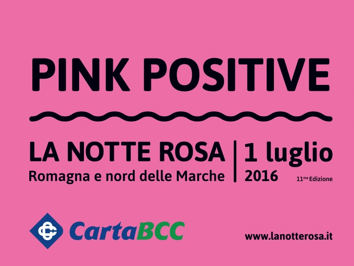 pink positive notte rosa 2016