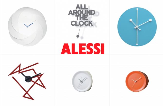 all around the clock alessi