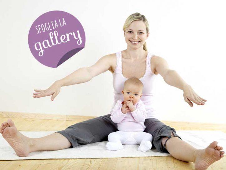 Fitness mamma-bimbo