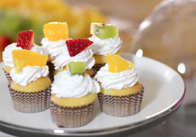 Libro Le Ricette Di Misya video ricetta: dolcetti panna e frutta