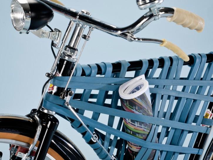 Personalizzare bicicletta: portaoggetti creativo