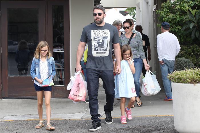 Ben Affleck fa spesa con la figlia
