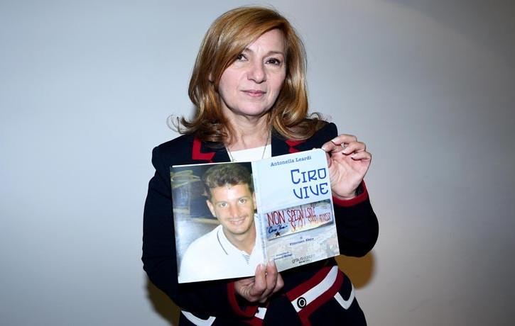 Antonella Leardi, madre di Ciro Esposito