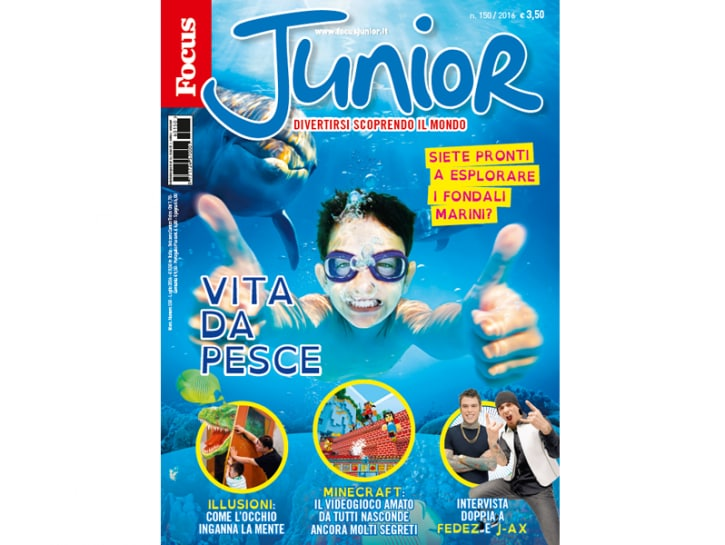 nuovo focus junior copertina