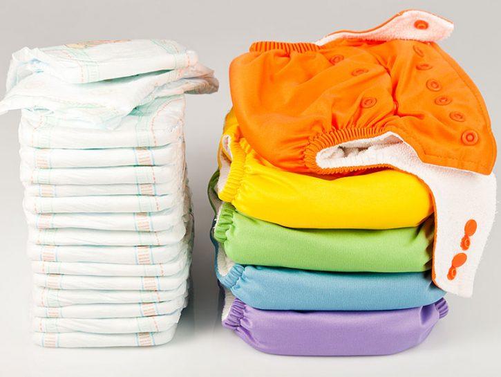 Pannolini lavabili: pro e contro
