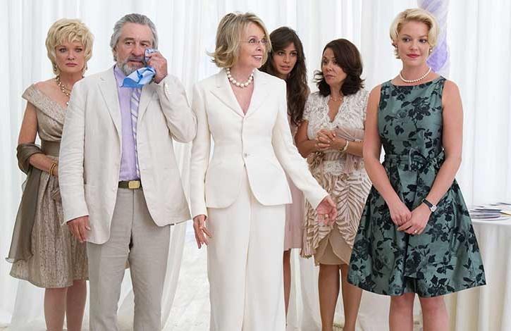 Big wedding film con Robert De Niro e Diane Keaton