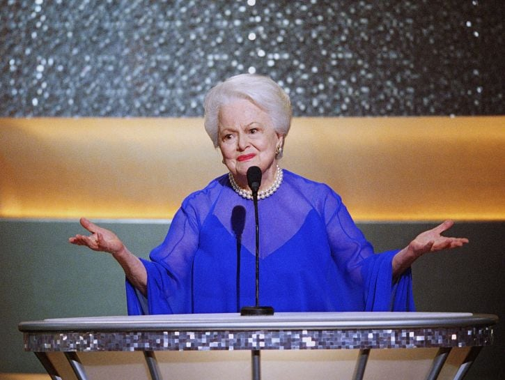 Olivia de Havilland Academy Awards nel 2003