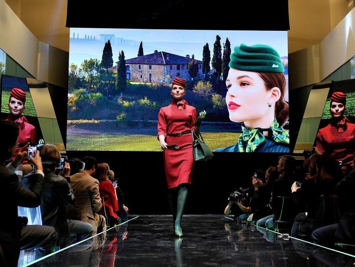 Hostess uniformi Alitalia