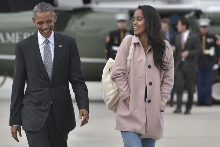 Barack Obama e Malia