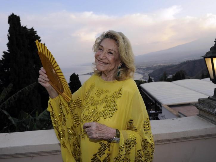 Marta Marzotto a Taormina