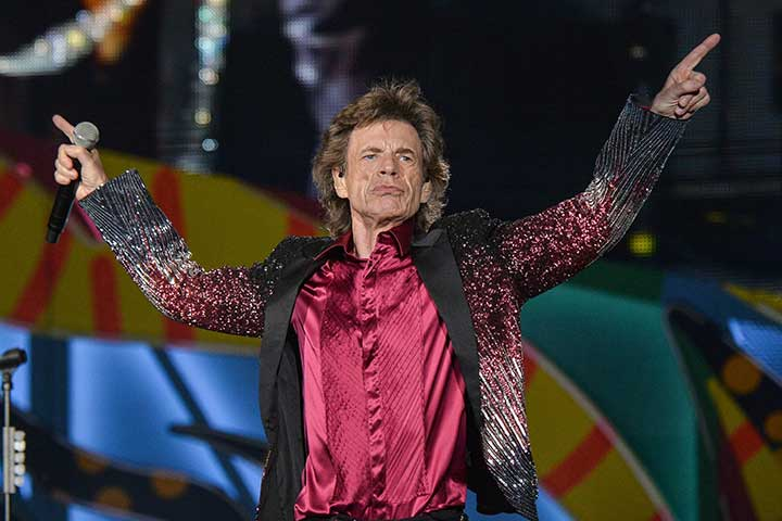 Mick Jagger, papà a 73 anni - Donna Moderna