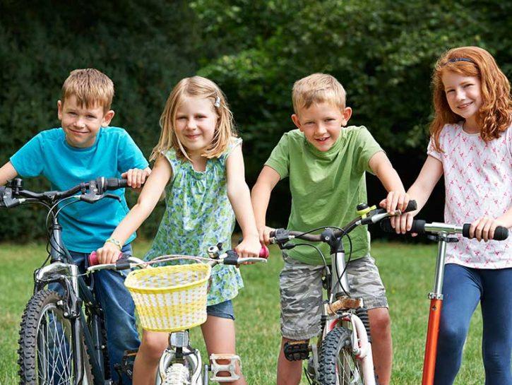 sport su ruote bambini