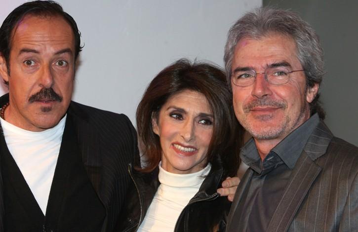 Il Trio: Massimo Lopez, Anna Marchesini e Tullio Solenghi.
