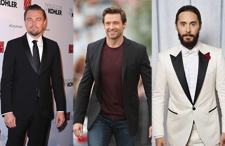 Leonardo DiCaprio, Hugh Jackman e Jared Leto