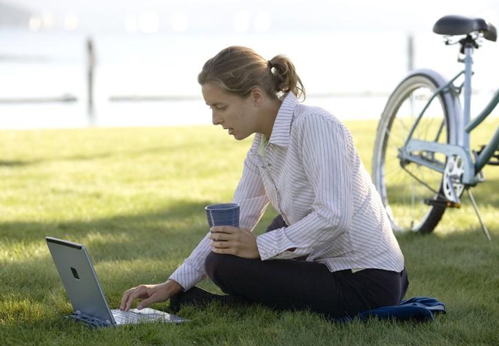 Con il wifi si lavora dovunque