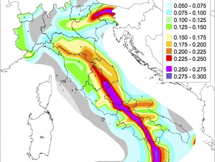 Cartina Zone Sismiche Italia.Terremoto Le Zone Sismiche In Italia Donna Moderna