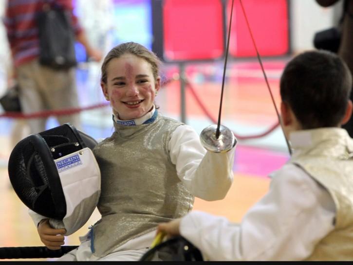 Beatrice Vio scherma in carrozzina Paralimpiadi 2016