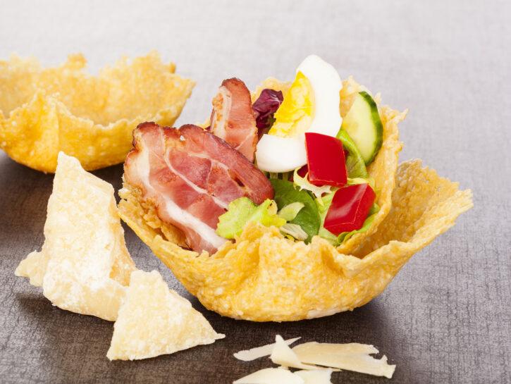 Cestini di parmigiano - Credits: Shutterstock