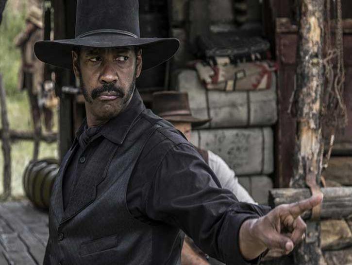 Denzel Washington in I magnifici sette