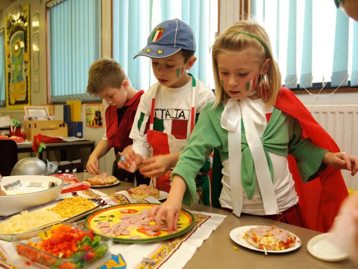 Mensa bambini scuola Italia